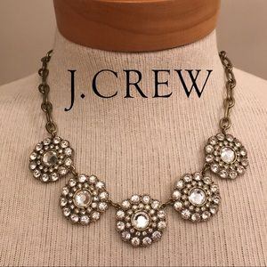 J. Crew Layered Circle Necklace Statement